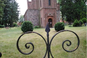 Radtour Ladeburg: Kirchentor