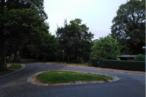 Radtour Ladeburg: Kreuzung