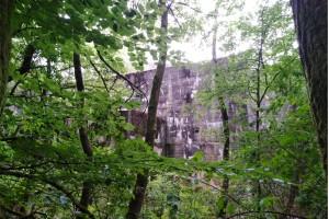 Wanderung Nähe Lanke / Lobetal: Tief im Wald das Lager Koralle